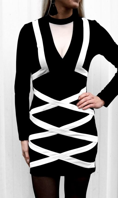 LIMITED ZIPPER DRESS