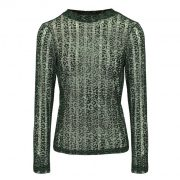 DAISY PANTHER TOP GREEN