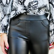 DEMY LEATHERLOOK LEGGING