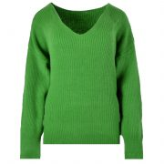 lady green sweater