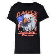EAGLE TEE BLACK