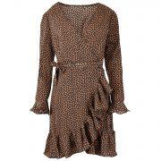 NALA BROWN DRESS