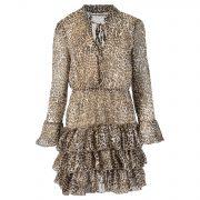 SARA LEOPARD DRESS