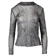 STARS GLAM TOP SILVER