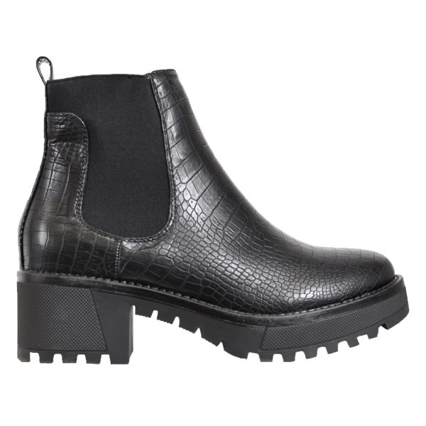 CHALLEY CROCO CHELSEA BOOTS