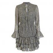 JALEEN LEO STAR DRESS BLACK