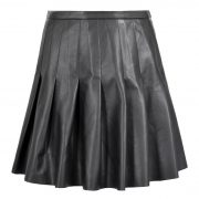 BIBI LEATHER SKIRT