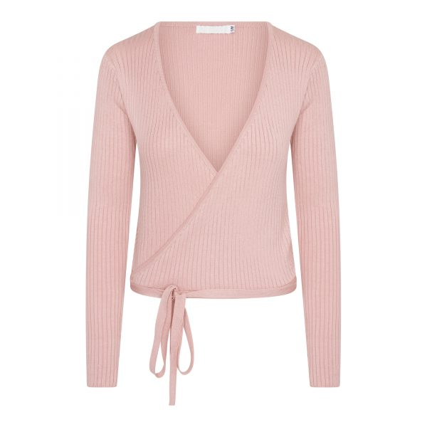 shelly wrap top pink