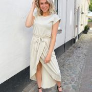 OLIVIA DRESS BEIGE