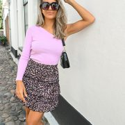 MINDY LEO SKIRT BLACK