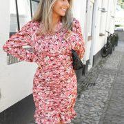 SILVIA FLOWER DRESS PINK