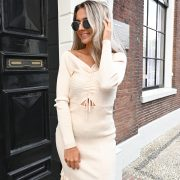 MENDY DRESS BEIGE