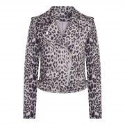 britt leo jacket grey