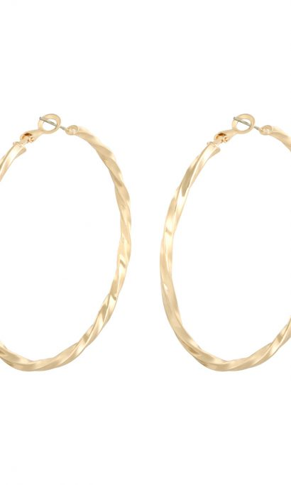 EMMS CREOLL EARRINGS GOLD