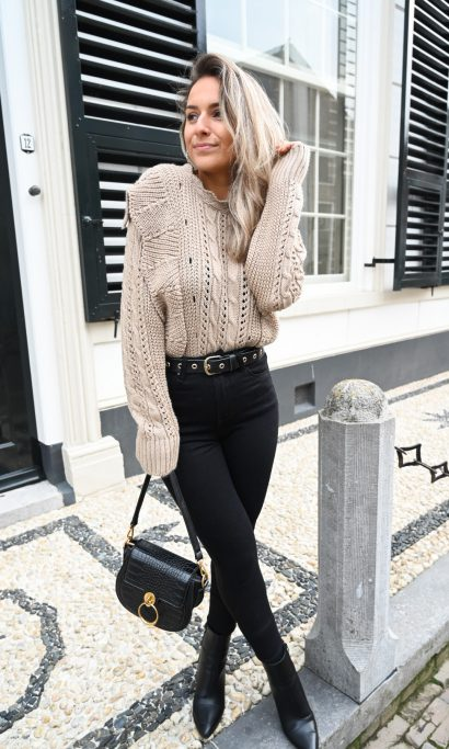 LISELY SWEATER TAUPE