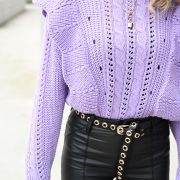 LISELY SWEATER LILA