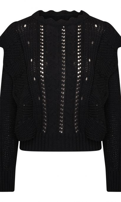 LISELY SWEATER BLACK