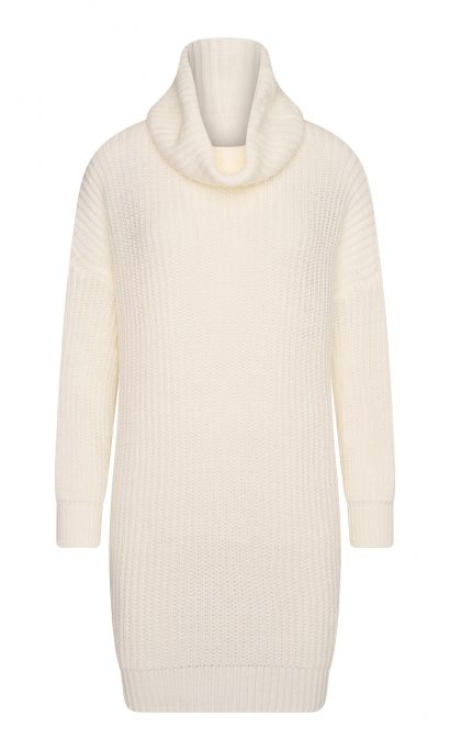 IRSY COLL SWEATER WHITE