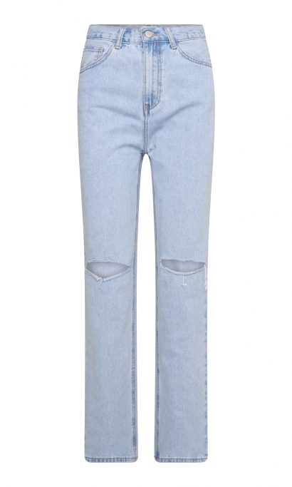 MENTHE RIPPED JEANS BLUE