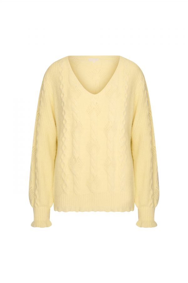 FAUVE SWEATER YELLOW
