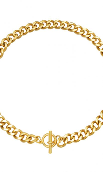 EVY CHAIN NECKLACE GOLD