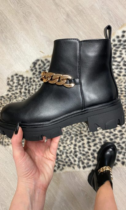 LYSE BOOTS BLACK