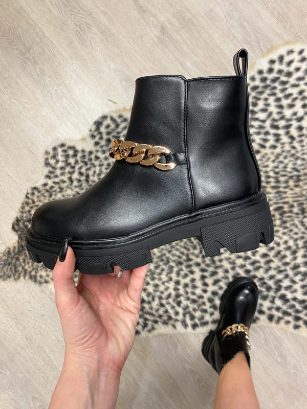 LYSE BOOTS BLACK