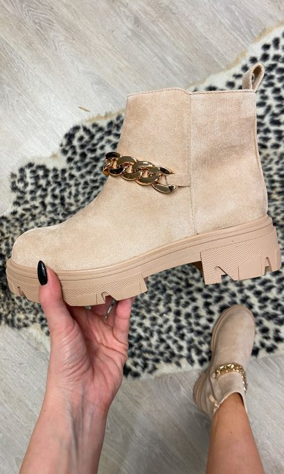 LYSE BOOTS BEIGE