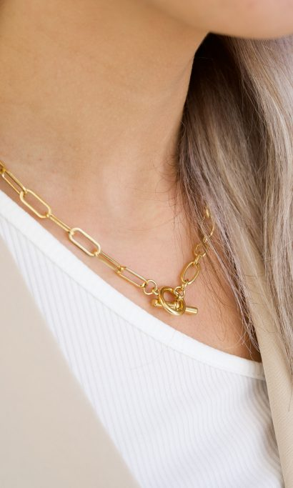 MERLE CHAIN NECKLACE GOLD