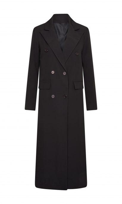 DIMARA LONG COAT BLACK