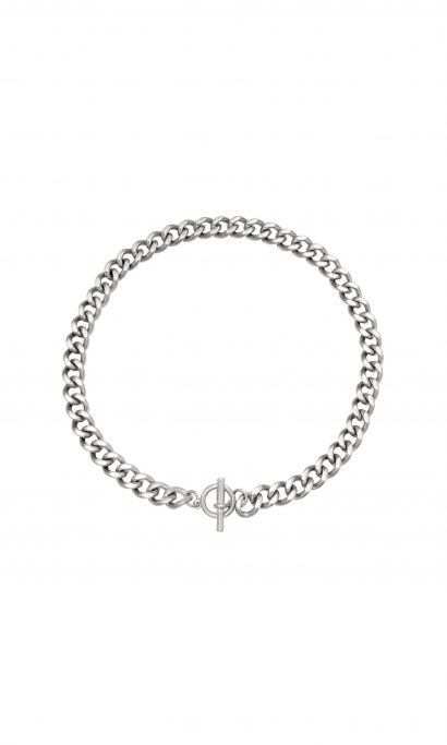 EVY CHAIN NECKLACE SILVER