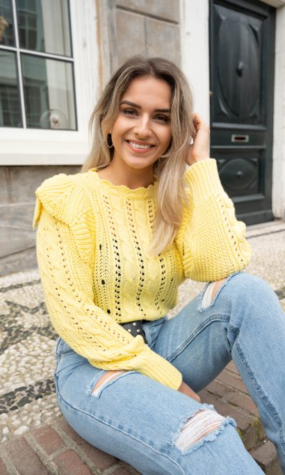 LISELY SWEATER YELLOW