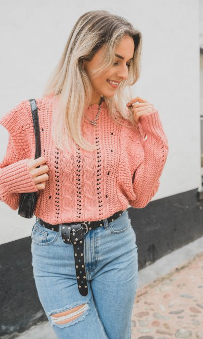 LISELY SWEATER PINK