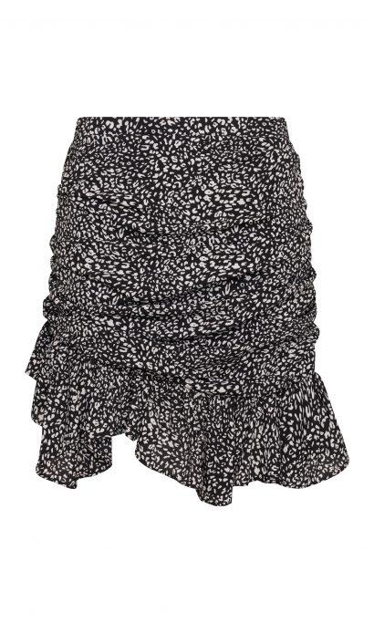 XANNE LEO SKIRT BLACK